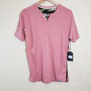 Free Planet Blush Shoet Sleeve Tshirt